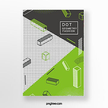 geometric point poster Template