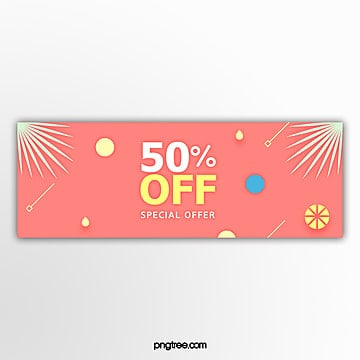 preferential volume template for promotion of pink stereo fresh colored leaves Template