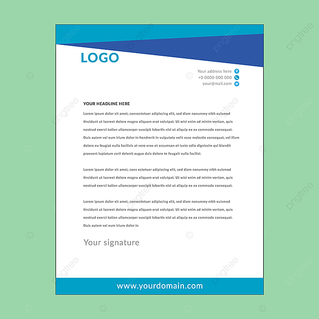 Office Letterhead Png, Vector, PSD, And Clipart With