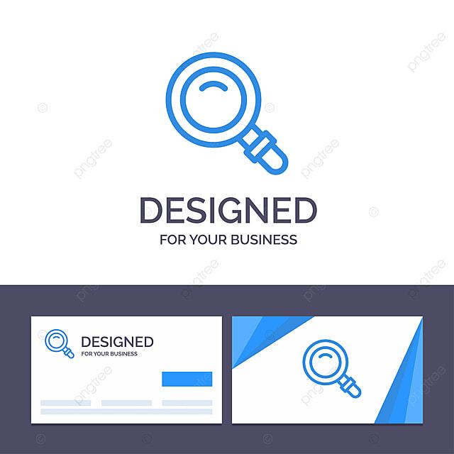 Kreative Visitenkarte Und Logo Vorlage Finden Gla Suche