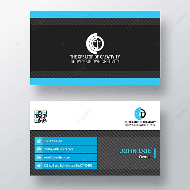 Vorlage Für Kreatives Design Von Visitenkarten Vorlage Zum