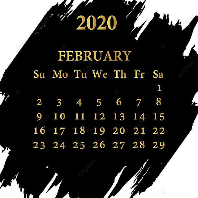 Modele De Calendrier 2020.Fevrier Calendrier 2020 Modele De Telechargement Gratuit Sur