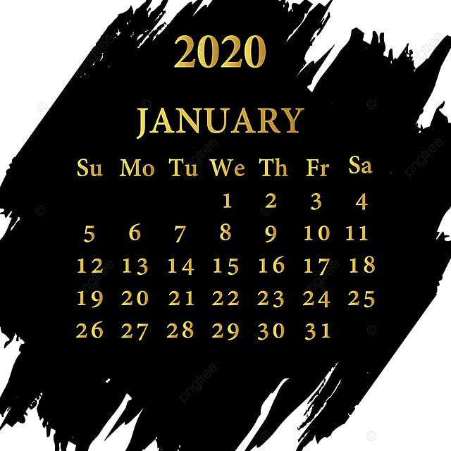 calendrier janvier 2020 mod u00e8le de t u00e9l u00e9chargement gratuit