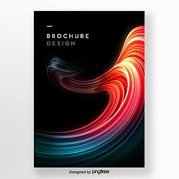 3d cool brush business poster Template