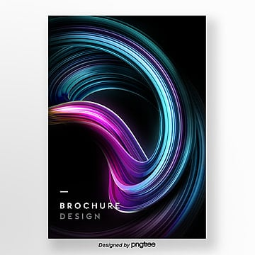3d creative cool and bright three dimensional poster Template
