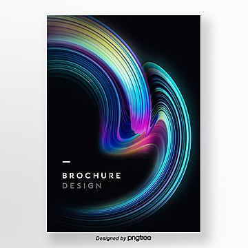 business 3d stereo cool poster Template