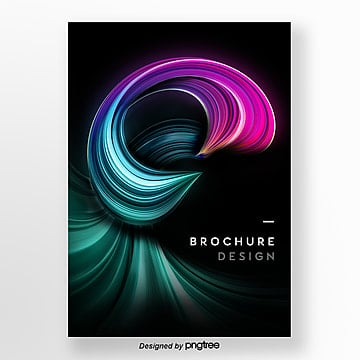 dazzling 3d brush poster Template