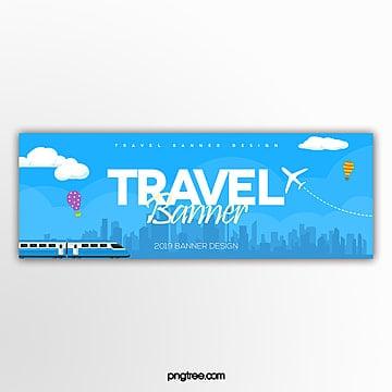 fashion modern simple web travel theme banner Template
