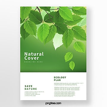 fresh green biotechnology business cover Template