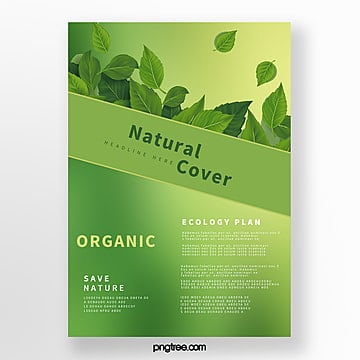 green biotechnology business cover Template