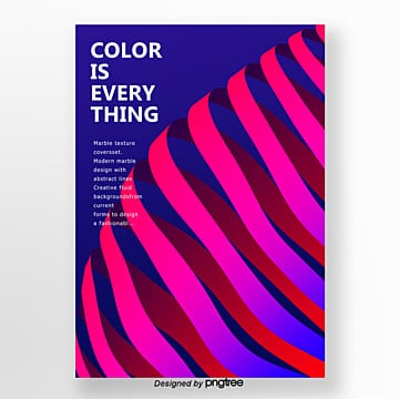 abstract style exaggerates brilliant color geometry trend poster Template