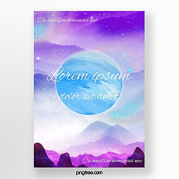 blue planet star clean gradual change Template