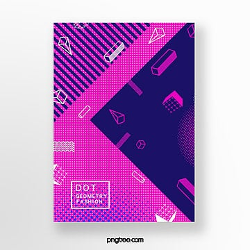 creative geometry perspective point poster Template
