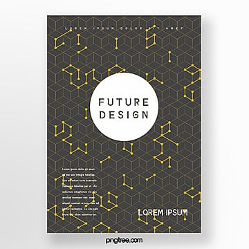 Future Science and Technology Cover Design Poster Template