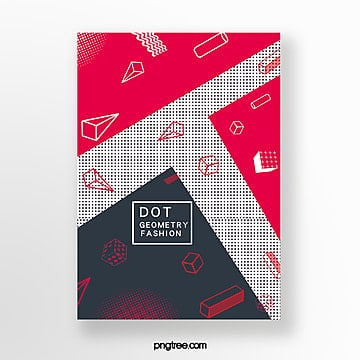 geometric point creative poster Template