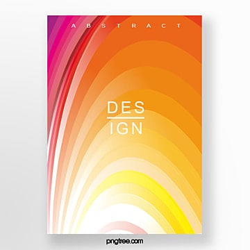 gradient stripe geometric poster Template