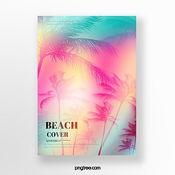 holographic palm projection poster Template
