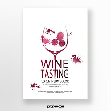 Wine red goblet wine stain Template