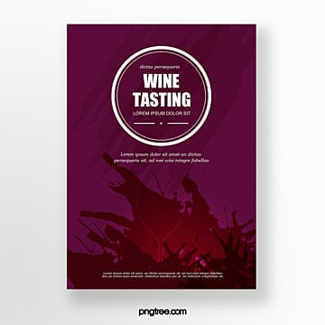 Wine red wine liquid badge Template