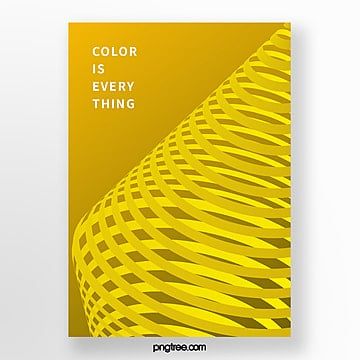 geometric cone line spiral stereo gradient trend poster Template