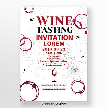 Invitation letter for creative wine tasting activities Template
