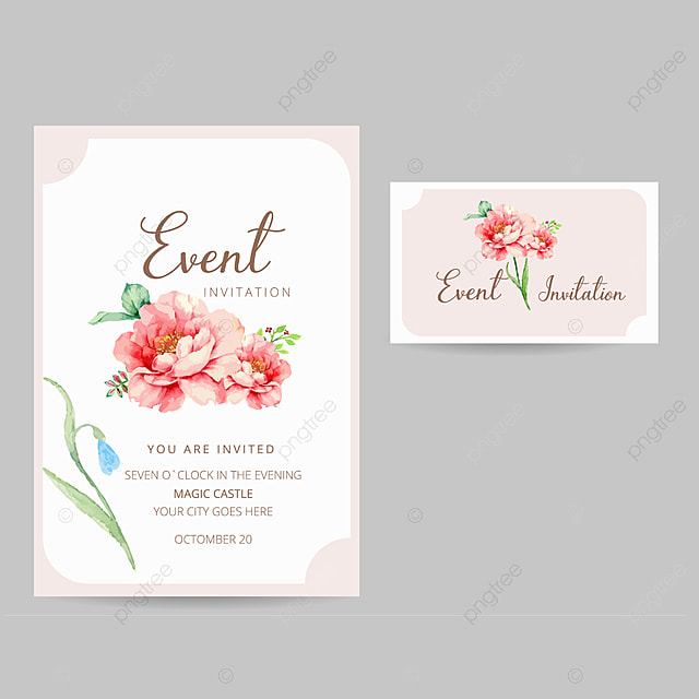 Editable Event Invitation Card Template For Free Download On Pngtree