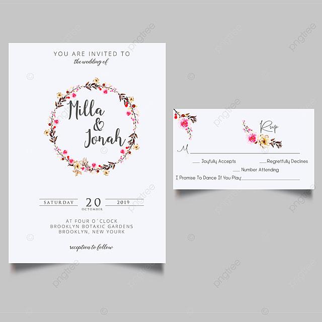 Luxury Folding Wedding Invitations Wedding Menu Template For
