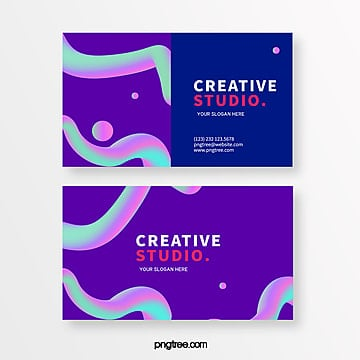 fashion line creative style business card design Template