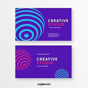spherical bar creative style element business card Template