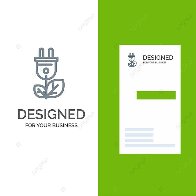 biomass,energy,plug,power grey logo design and business card