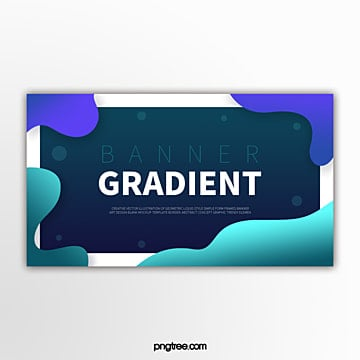 color gradient fluid shape paint splash abstract banner Template
