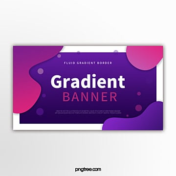 colour gradual wave shape decorative border modern simple banner Template