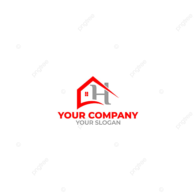 Ch Home Construction Logo Design Vector Template for Free ...