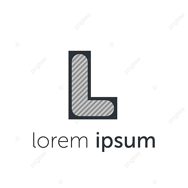 Surat Logo Design Minimalis Konsep Vektor Template Templat