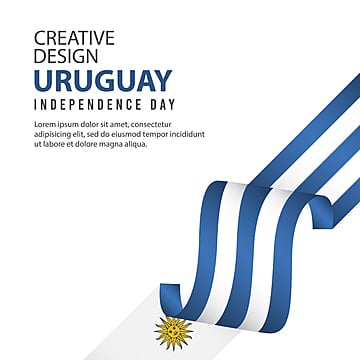 uruguay independence day celebration creative design illustration vector template Template