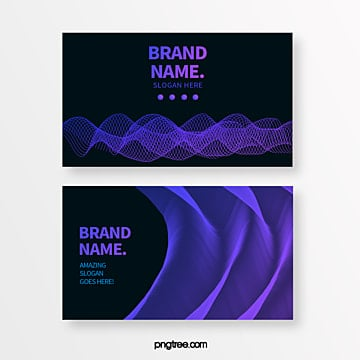 color technology line geometric trend abstract business card Template