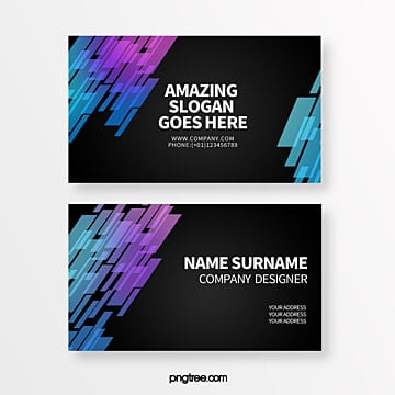 creative business card with gradual sense of science and technology overlapping polygon geometry trend Template