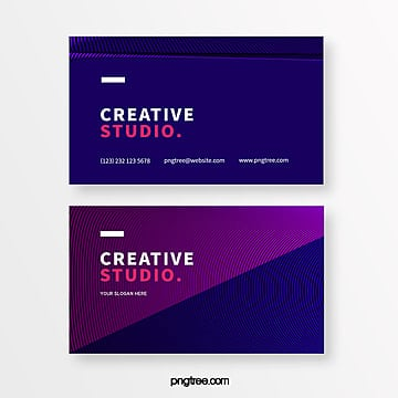 dark line creative style business card Template
