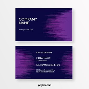 purple geometric trend radiographic creative business card Template