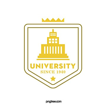 yellow creative school college educational symbol Template