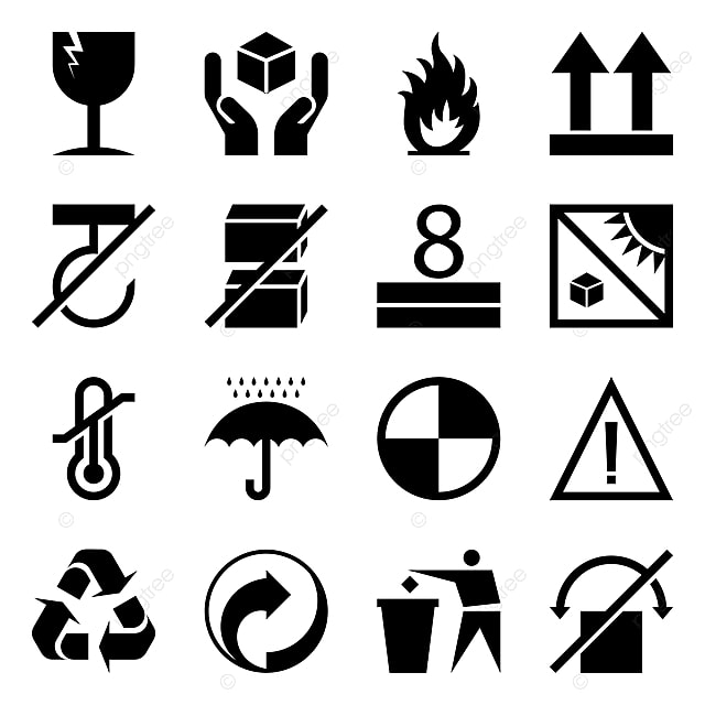 Logo Mockup Black Flag Sign: Packaging Symbols Png, Vector, PSD, And Clipart With