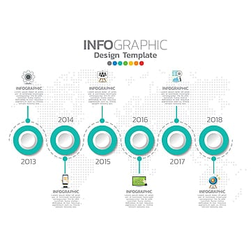 binary options info graphic template