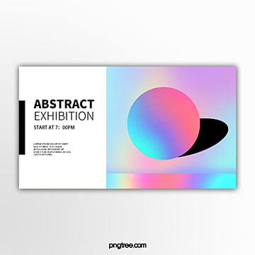 holographic geometric trends spatially sensed spherical exhibition flag Template