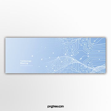 blue business gradient technology activity popup Template