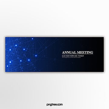 business technology blue gradient background event template Template