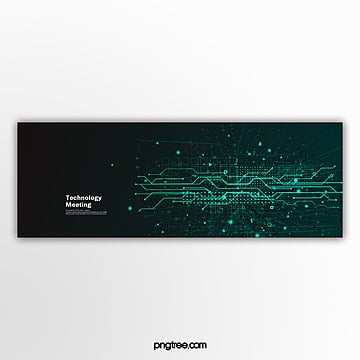 green gradient commercial technology activity popup Template