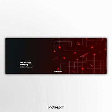 red business technology activity popup Template
