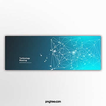 Commercial blue technology activity popup Template