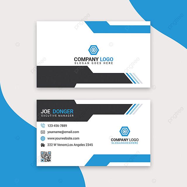 Corporate Visitenkarte Design Vorlage Zum Kostenlosen