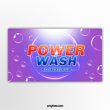 color gradient washing supplies promotional pop up window Template